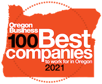 100 Best Companies to Work For in Oregon logo